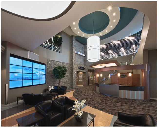 The Athletic Club interior image I